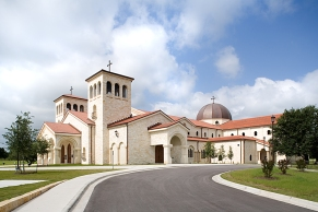 St. William Church (Austin, TX). Exterior view. Photo provided courtesy of parish.
