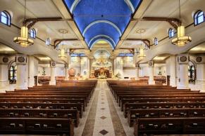 St. William Church (Austin, TX). Interior Vista. Photo provided courtesy of parish.