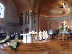 Art and Liturgy - Church Madness - Cathedral of Immaculate Conception Memphis TN -Angle View