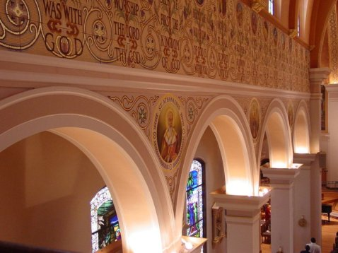 Art and Liturgy - Church Madness - Cathedral of Immaculate Conception Memphis TN -Arcade