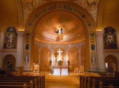Art and Liturgy - Church Madness - Cathedral of Immaculate Conception Memphis TN -Sanctuary