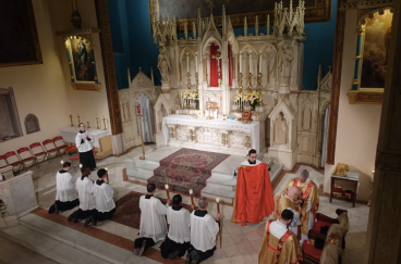 Holy Innocents (Manhattan, NYC). Sanctuary. Photo from parish website.