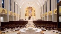 Madonna della Strada Chapel at Loyola University Chicago. Photo from LUC website.