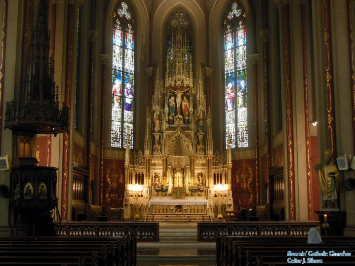 St. Francis de Sales Oratory (St. Louis, MO). Photo provided by Roamin' Catholic Churches.