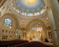 St. James Church (Louisville, KY). Interior view. Photo from parish website.