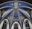 St. John the Evangelist Church (Indianapolis, IN). Apse mural. Photo graciously supplied by the wonderful Roamin' Catholic Churches.