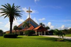 St. Jude Church (Tequesta, FL). Exterior. Photo from parish website.