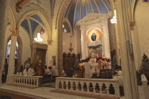 St. Mary Church (Norwalk, CT). Sanctuary. Photo from the Society of St. Hugh of Cluny website.