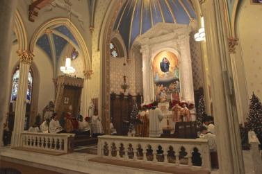 St. Mary Church (Norwalk, CT). Sanctuary. Photo from the Society of St. Hugh of Cluny website.