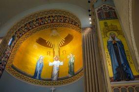 St. Monica Church (Santa Monica, CA). Photo from church's Yelp page.