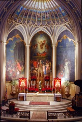St. Patrick Church (New Orleans, LA). Sanctuary. Photo from parish website.