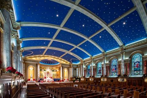 St. Peter Church (Omaha, NE). Photo from parish website.