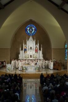 St. Teresa of Avila Church (Grovetown, GA). Sanctuary. Photo from parish website.