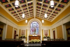 St. Theresa Church (Sugarland, TX). Daily Mass chapel. Photo from parish website.