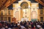St. Theresa Church (Sugarland, TX). Sanctuary. Photo from parish website.