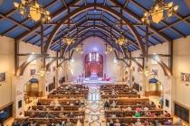 Our Lady of Grace (Maricopa, AZ). Interior vista. Photo provided by parish.