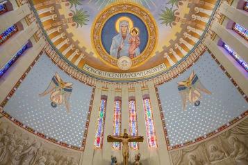 St. John Chrysostom Church (Inglewood, CA). Apse. Photo provided by Enzo Selvaggi.