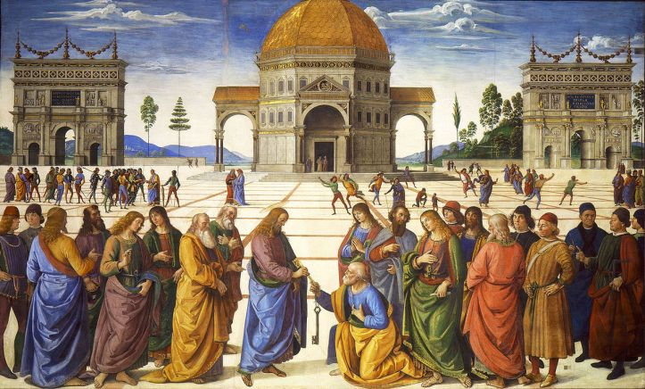 Art and Liturgy - Pietro Perugino - Delivery of the Keys 1482