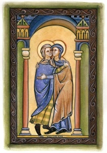 Art and Liturgy - 13th century Gothic illuminated manuscript - School of St Albans - Dr David Clayton