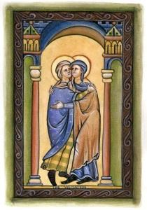 Art and Liturgy - 13th century Gothic illuminated manuscript - School of St Albans - Dr David Clayton