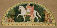 Art and Liturgy - Beuronese Mural - St Martin of Tours