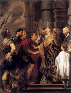 Anthony_van_Dyck_-_Emperor_Theodosius_Forbidden_by_St_Ambrose_To_Enter_Milan_Cathedral_-_WGA07437.jpg